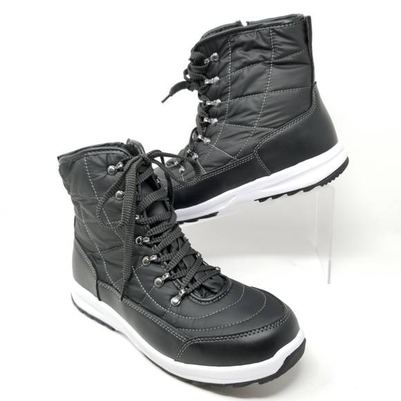! Weatherproof Women/'s Katie Faux Fur Winter Boots~ Black ~ Various Sizes